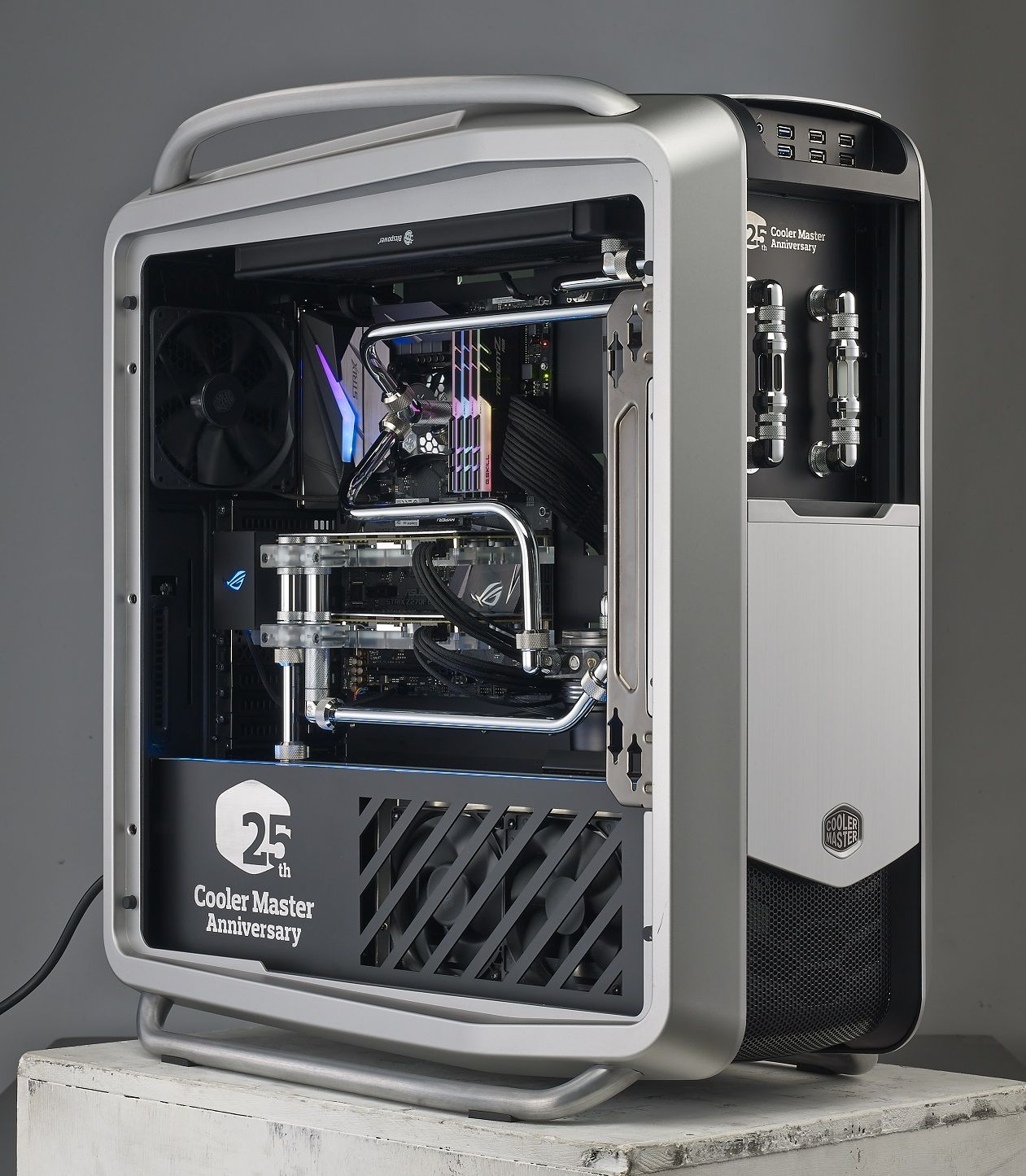 Case Mod Friday: Cosmos II 25th Anniversary Edition | Computer Hardware Reviews - ThinkComputers.org