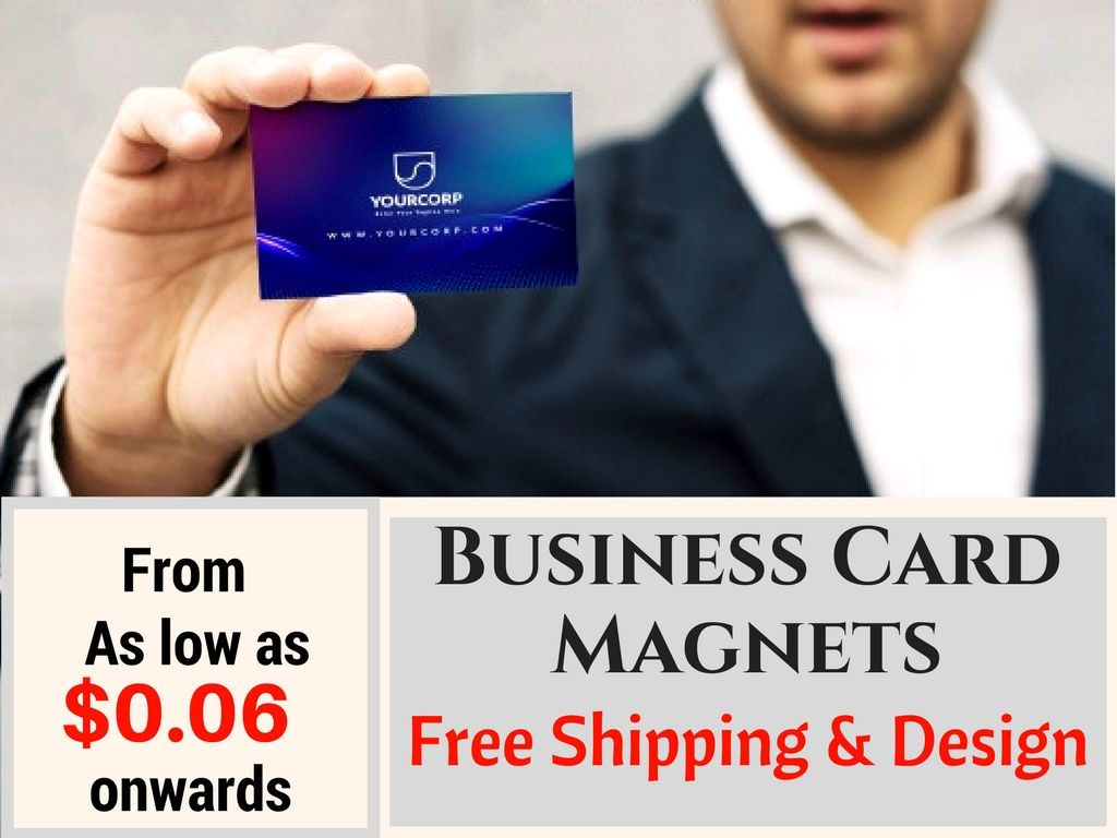 Get More Return On Your Investment With Business Card Magnets Businesscard Custommagnets Freeshipping Sh Magnetic Business Cards Business Business Cards