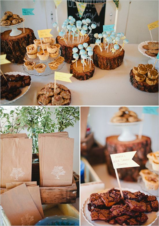 Central California Rustic Wedding Reception Food Reception And