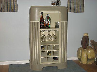 1940s Radio Cabinet Repurposed.to a Liquor / Wine Cabinet   Wine ...