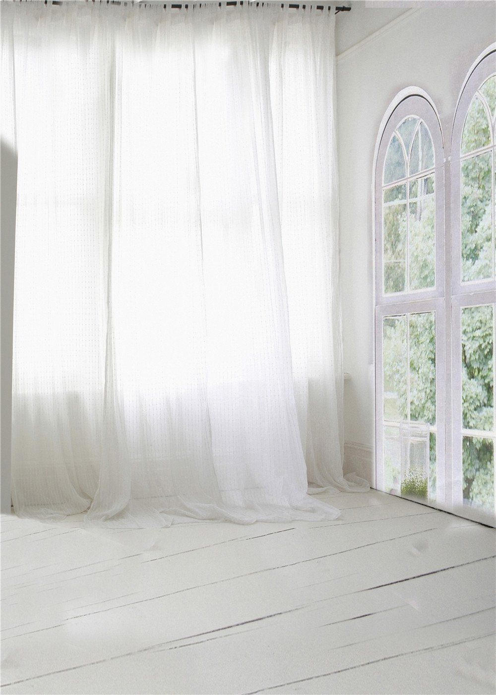 Amazon.com : SUSU 5x7ft Bedroom Backgruond White Curtain