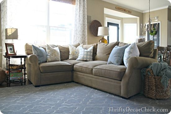 A Lansbury Sectional From Arhaus Family Room