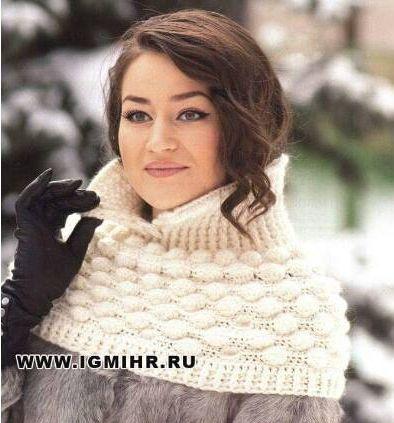Patrón #775: Bufanda tipo Cuello a Crochet | CTejidas [Crochet y Dos ...