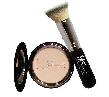 it cosmetics antiaging celebration foundation with brush