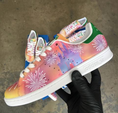 Adidas Stan Smith Paint Splatters