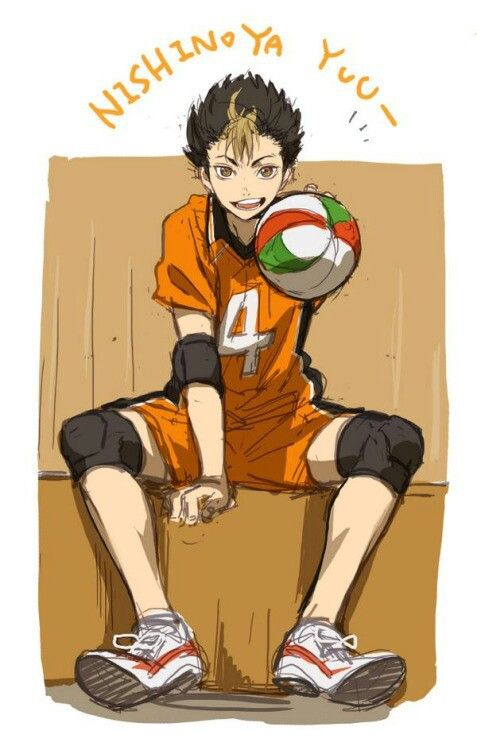 karasuno, noya, and haikyuu image