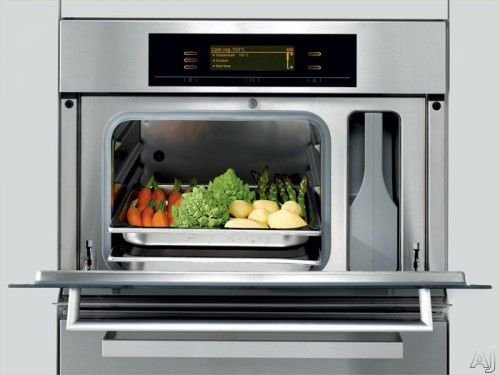 The wall steamer oven is another cutting-edge appliance that reflects how people's eating habits and concerns over healthy food are becoming a way of life.