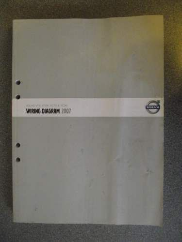 Volvo V70 V70r Xc70 Xc90 Wiring Diagram Manual 2007 Tp39988202