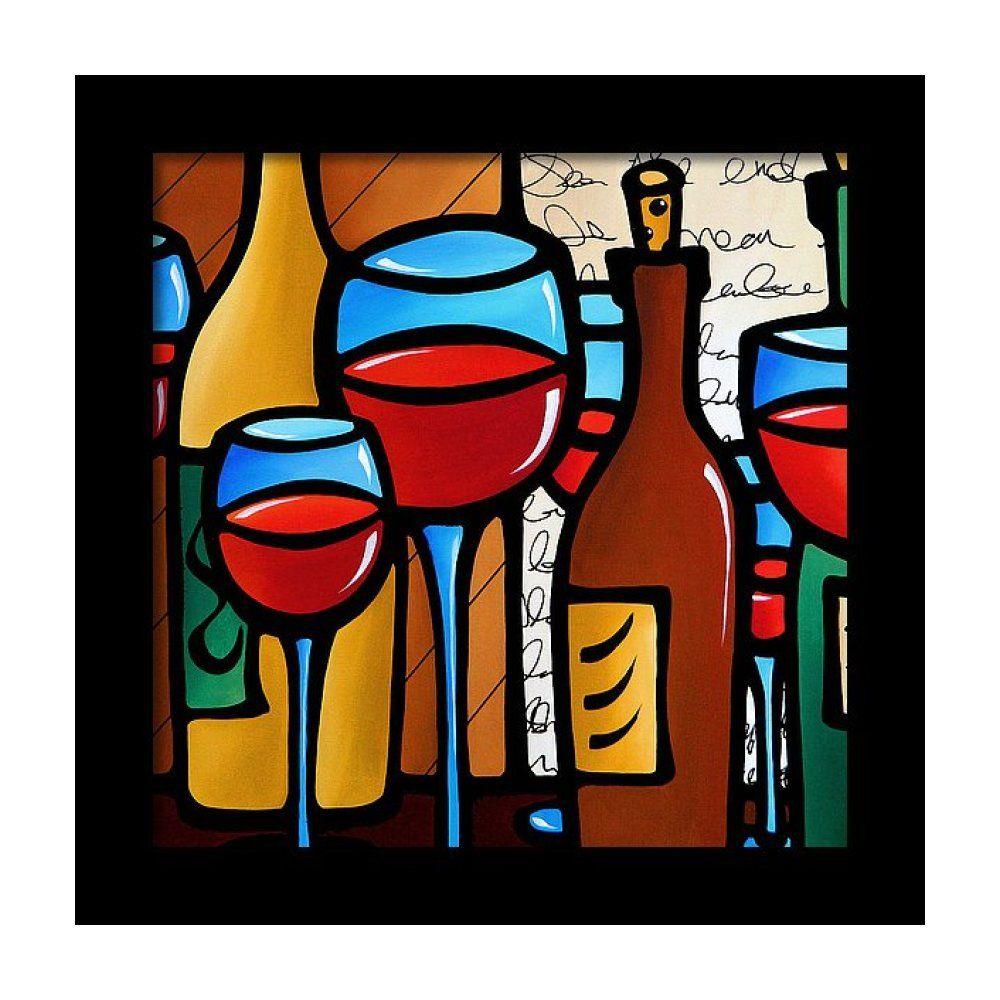 Peace Offering Framed Print By Tom Fedro Fidostudio In 2020 Original Abstract Art Wine Art Pop Art