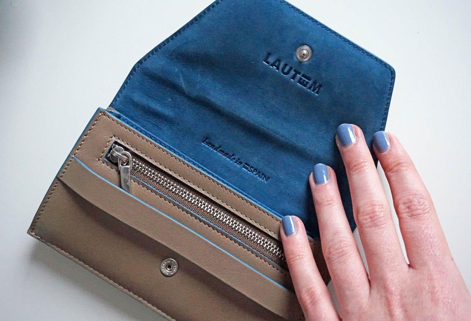 In the Mood grey wallet. http://www.itsthesmallthings.co.uk/2015/01/lautem-wallet.html www.lautemshop.com