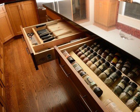 knives organized