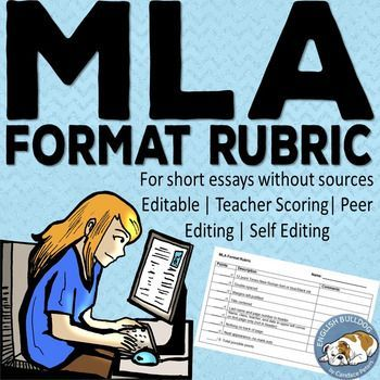 mla format rubric mla research paper rubrics and  mla format rubric