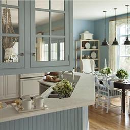 Best Colours Lulworth Blue Farrow Ball Blue Kitchen 400 x 300