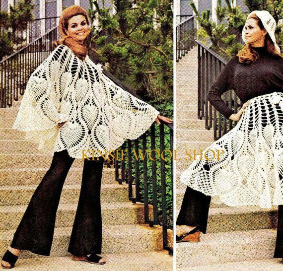 Vintage 70\'s Crochet \