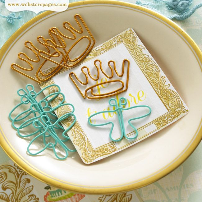 NEW! Postcards From Paris Designer Paper Clips!  http://websterspages.typepad.com/webstershome/2013/07/my-entry.html