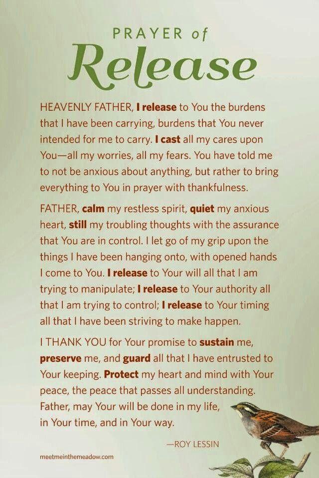 Gardner Printable Prayers Words Prayers