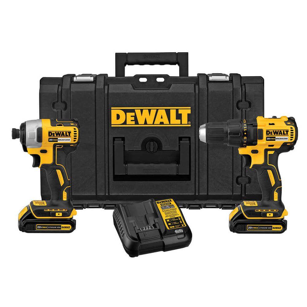 Dewalt Dckts277c2r 20 Volt Max Drill Impact Driver Tough System Combo Kit