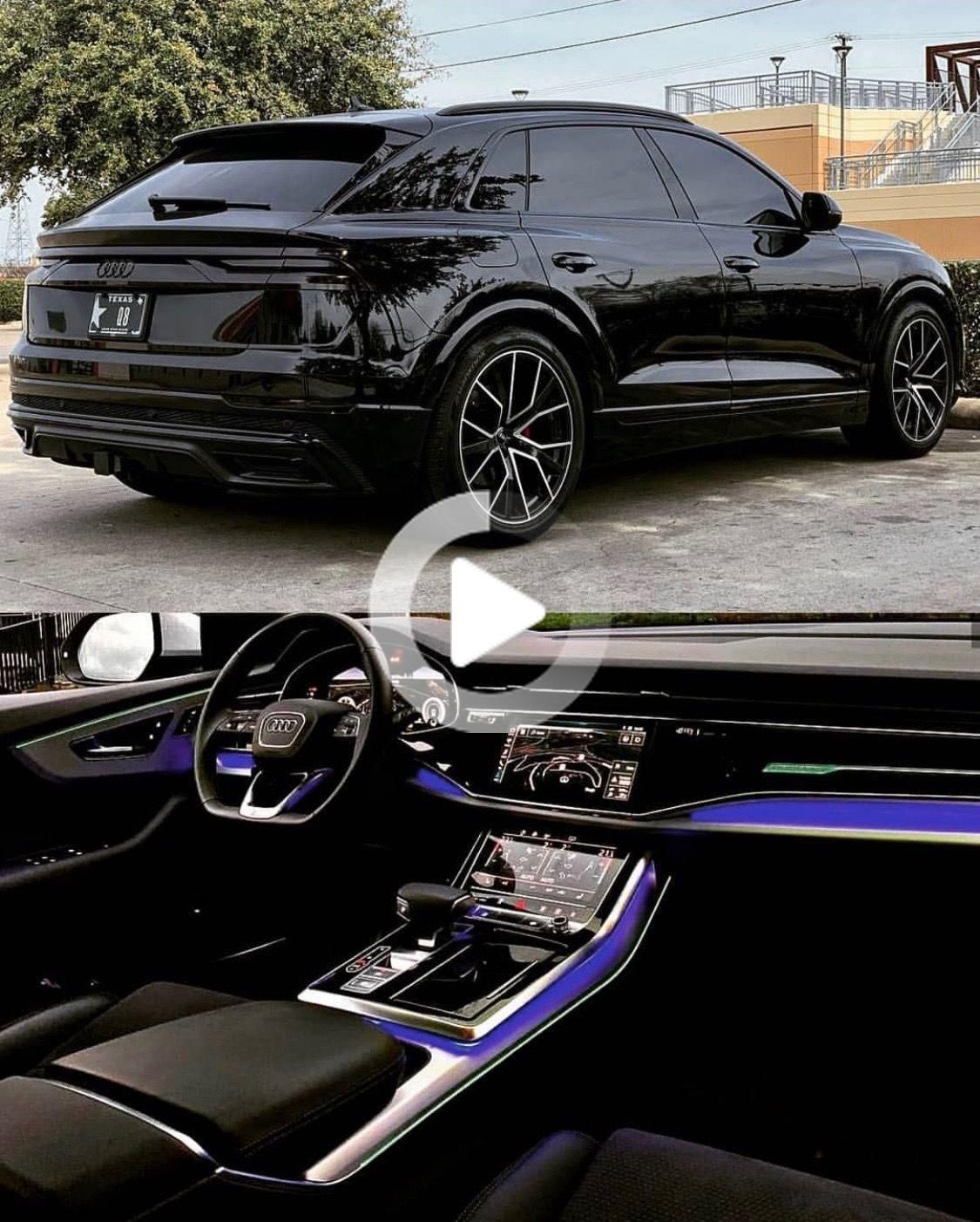 2020 Audi Q8 Blackblack Led Interior Blackblack Interior In 2021 Audi Interior Luxury Cars Audi Best Luxury Cars