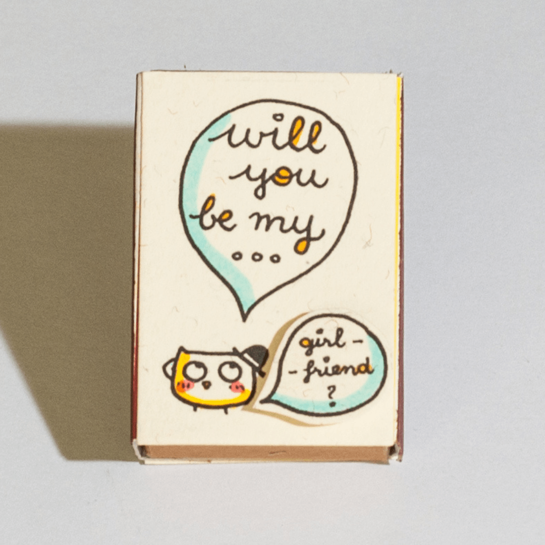 """Want to give your loved one a unique gift that they've never seen before? Buy Any 2 Matchboxes for 15% OFF: use code """"TWO15"""" at checkout Buy Any 3 Matchboxes for 25% OFF: use code """"THREE25"""" at checkout Buy Any 4 Matchboxes for 35% OFF: use code """"FOUR35"""" at checkout A surprise need not be expensive but it should be from your heart. Imagine how happy your loved one is when she or he reading this lovely message hidden in the cute and unique handmade matchbox card? We're sure this will be one of the"""