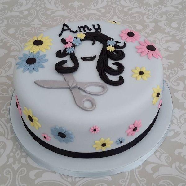 Cake Hairdresser Birthday