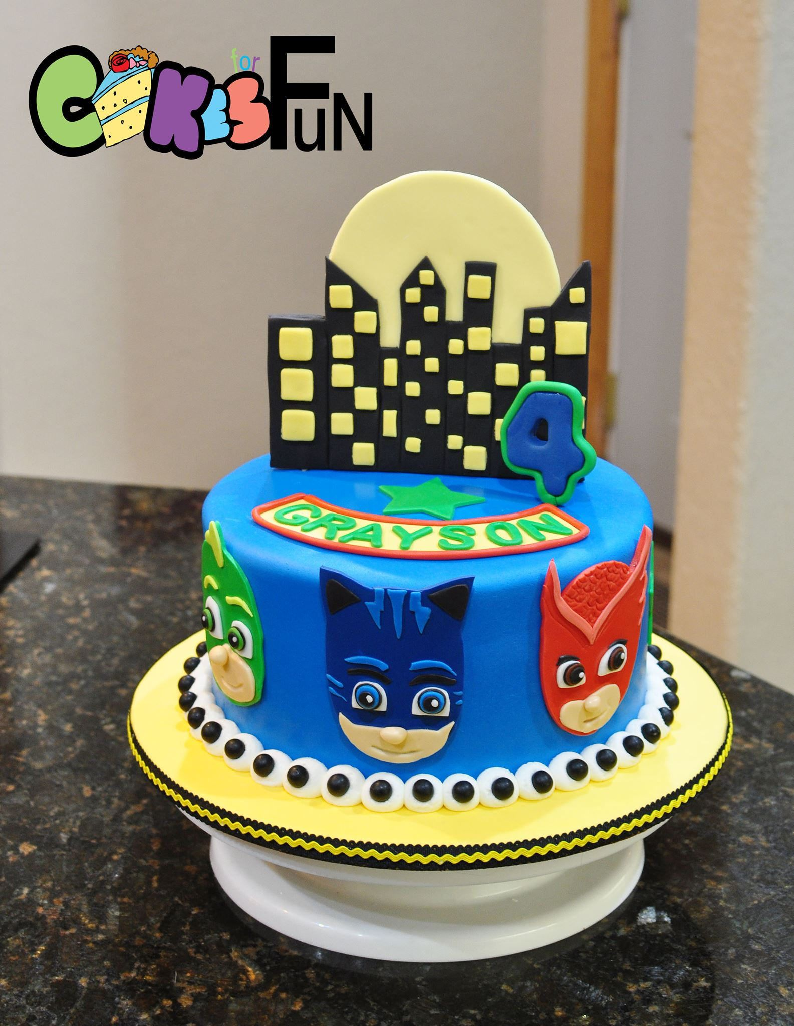 pj mask cake   pj masks birthday cake, birthday cake kids