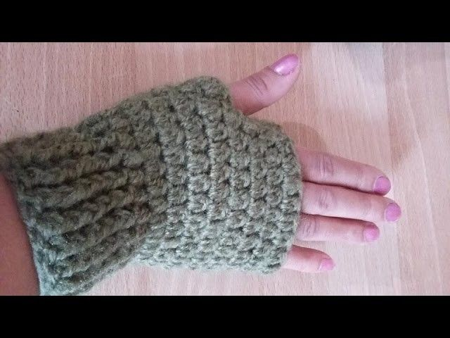 Mitaines Au Crochet Très Facile Mitaines En Crochet