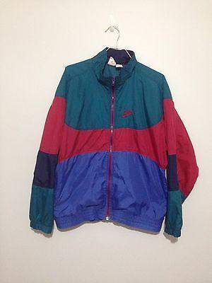 762082389cbeb Vintage Nike Light Weight Color Block Windbreaker Jacket Men Medium ...
