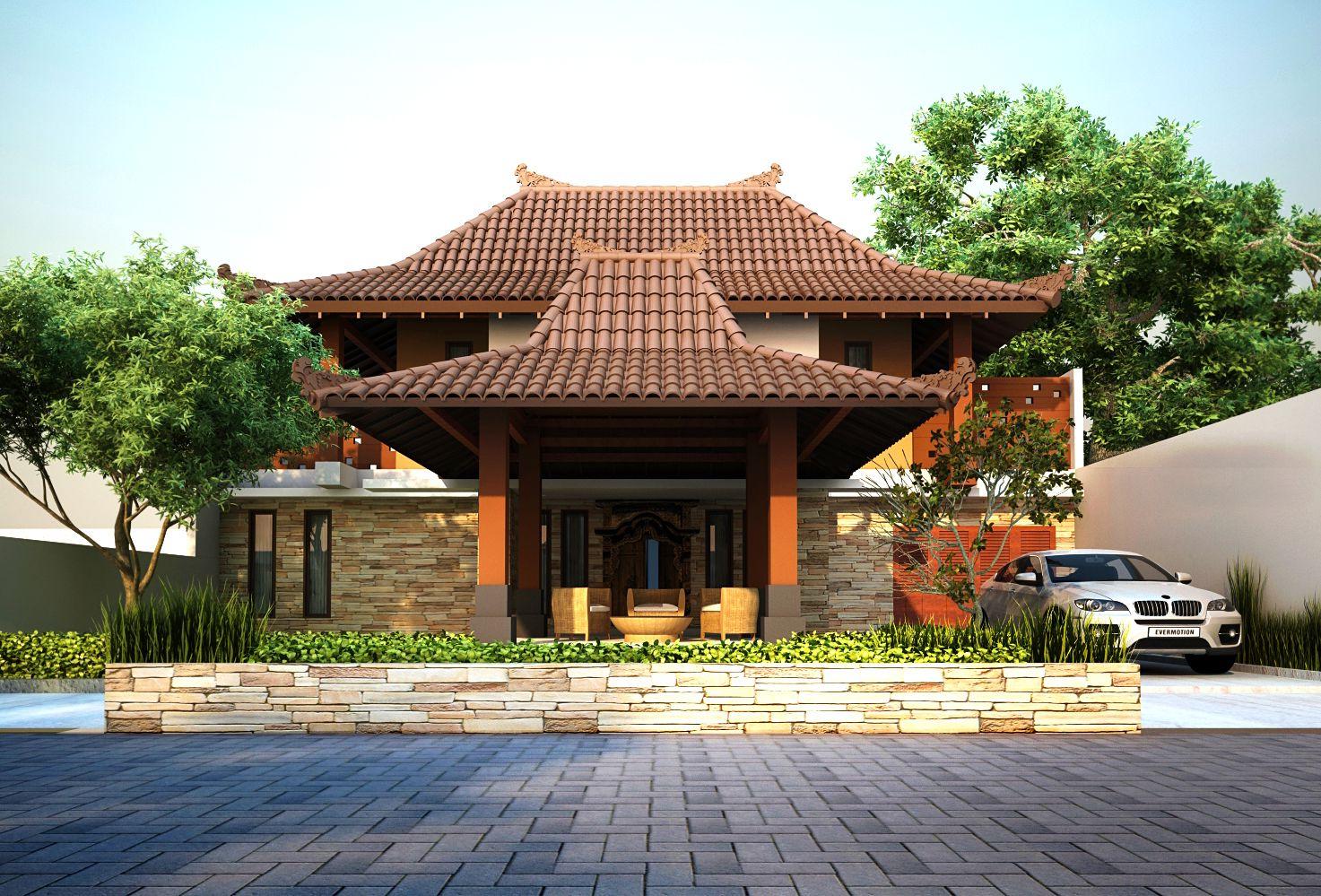 Desain Rumah Joglo 14 Traditional Javanese House JOGLO