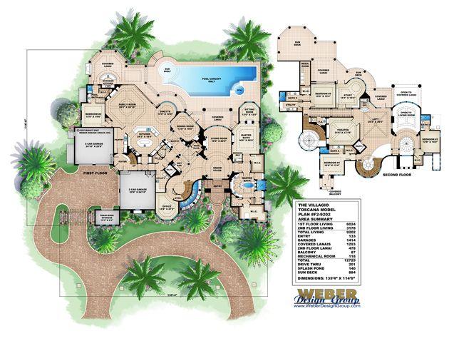 Mediterranean floor plan villagio toscana house love the for Mediterranean home plans with pool