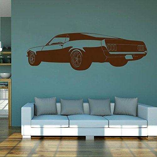 ik965 Wall Decal Sticker American car powerful living room bedroom StickersForLife http://www.amazon.com/dp/B00V35IAXU/ref=cm_sw_r_pi_dp_M6Kivb1NT86RY