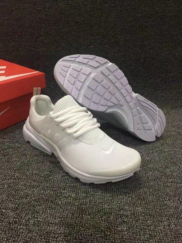 2018 New Arrival Unisex Nike Air Presto BR All White  a4b842c41a