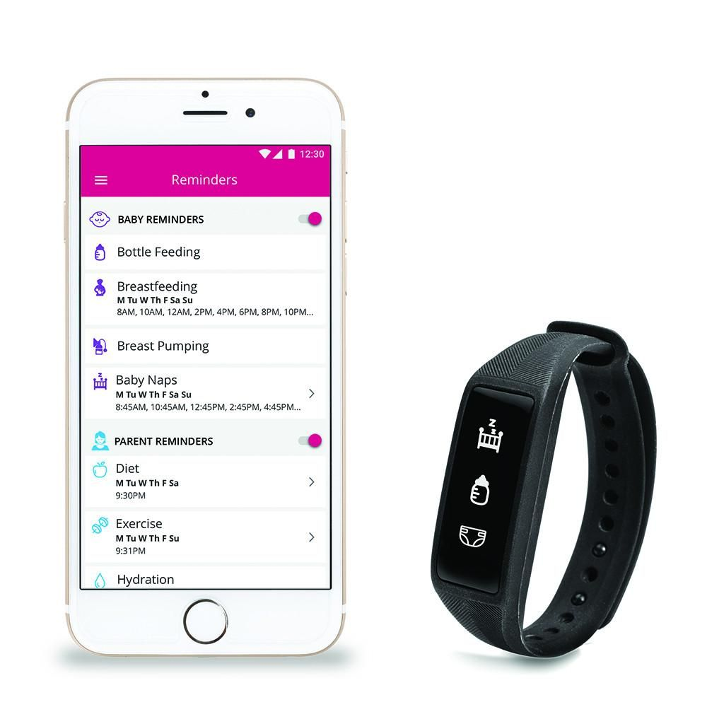 Parent + Baby SmartBand | Project nursery, Nursery and Parents