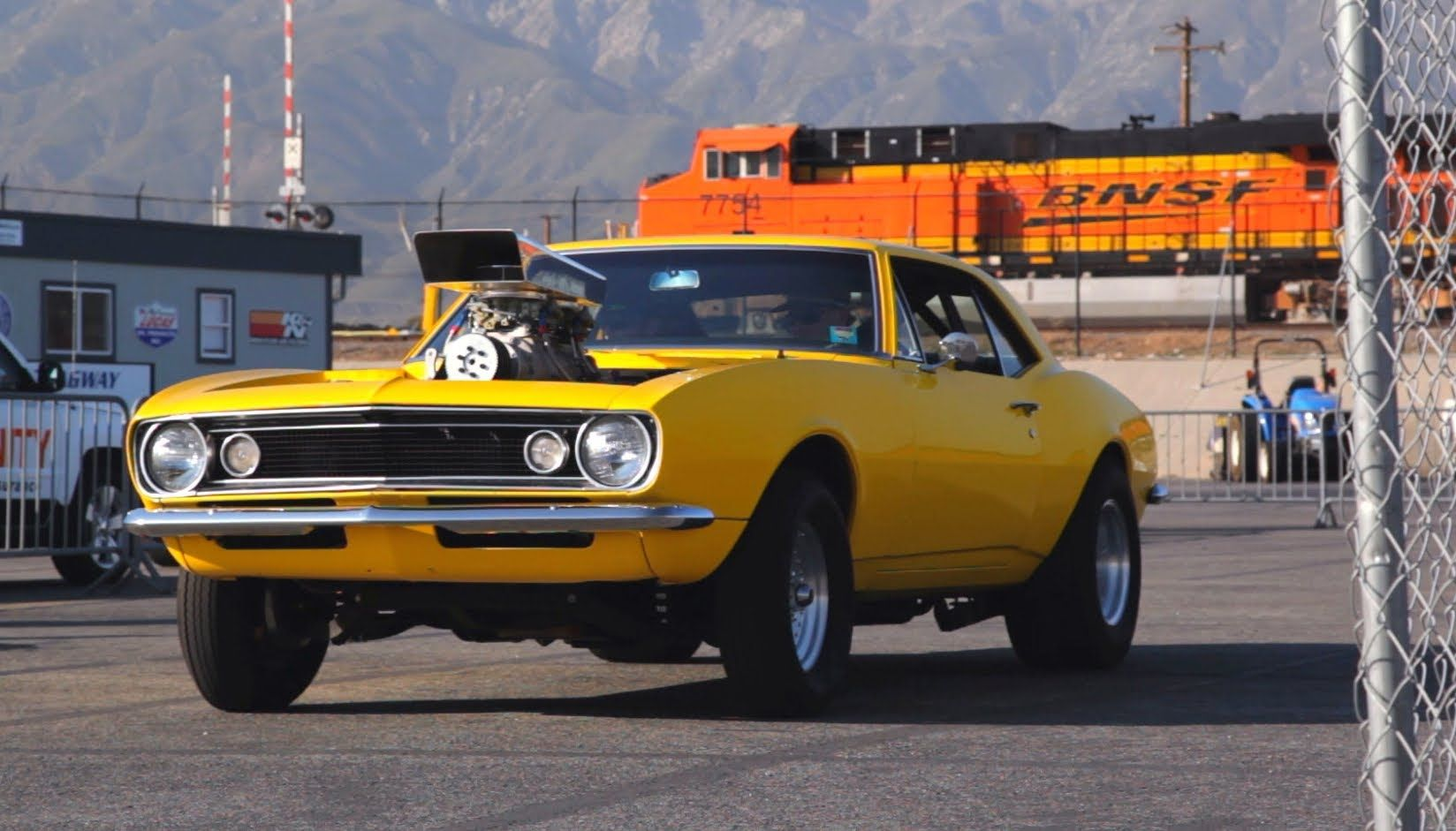 The 1967 Chevy Camaro Known As The Crusher Has A Roadkill Identity