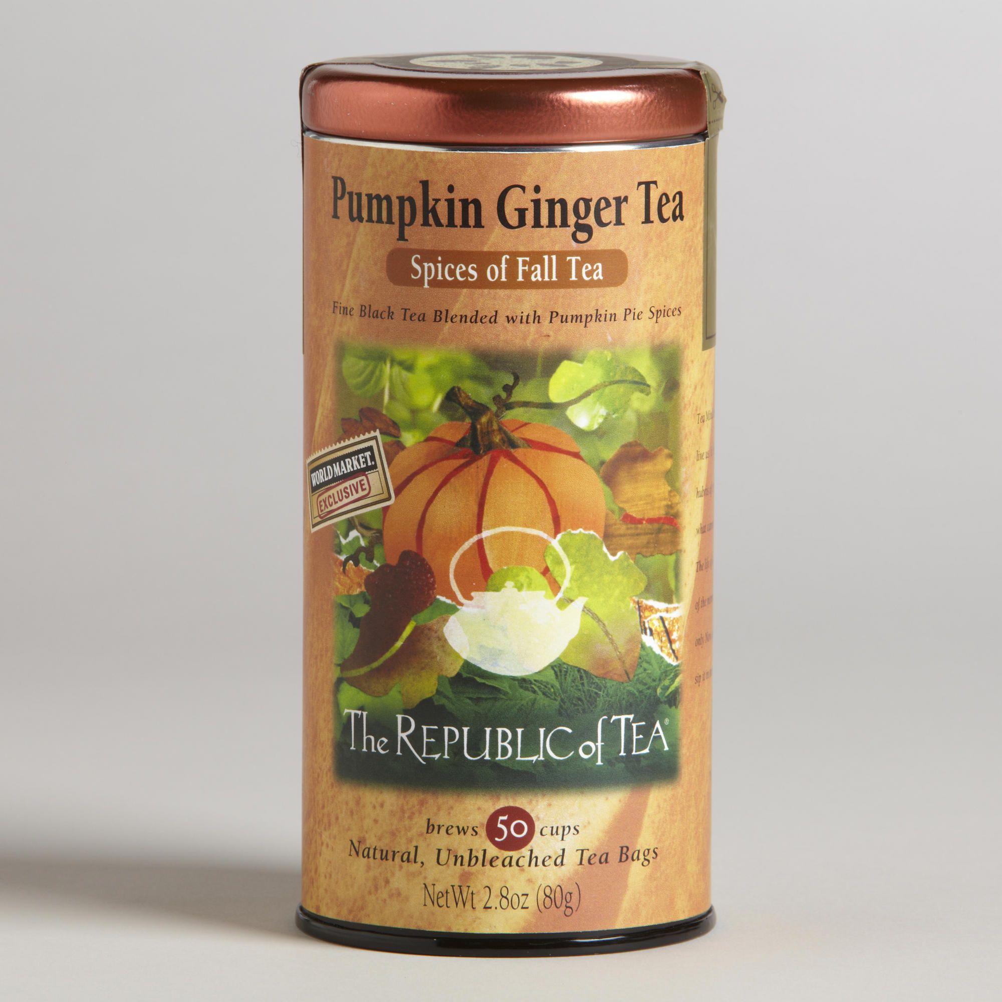 Pumpkin Ginger Tea