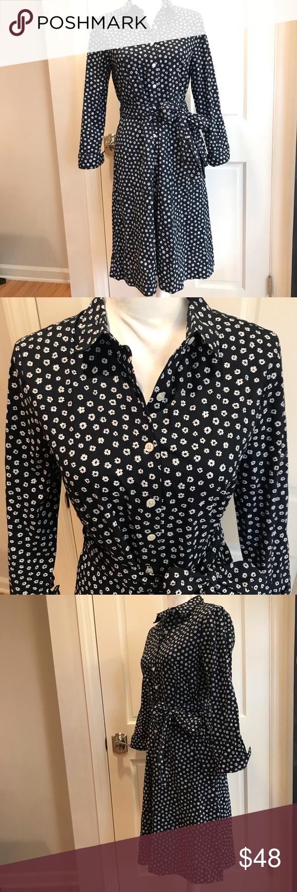 Nwt J Crew Long Sleeve Button Down Shirt Dress Button Down Shirt Dress Clothes Design Dress Brands [ 1740 x 580 Pixel ]