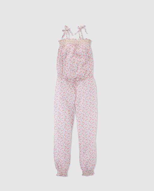 ac70d809c76 Mono largo de niña Polo Ralph Lauren con estampado de flores