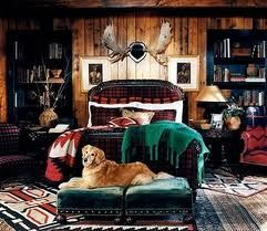 rustic, cozy. now this i could live with