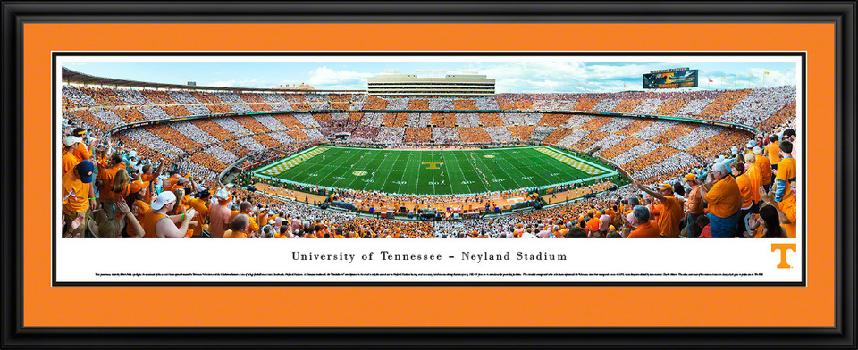 Tennessee Volunteers Panoramic Picture Neyland Stadium Football Panorama In 2020 Tennessee Volunteers Football Panoramic Print Panoramic Pictures