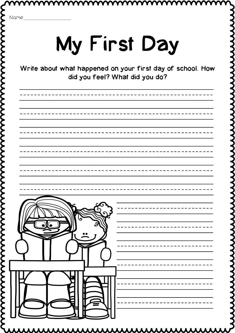 Back To School Writing Prompts Writing Prompts Get To Know You Activities Writing [ 1126 x 794 Pixel ]