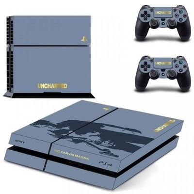 Naklejka Na Konsole Ps4 Uncharted 6682567215 Oficjalne Archiwum Allegro Playstation 4 Console Ps4 Skins Ps4 Skins Stickers