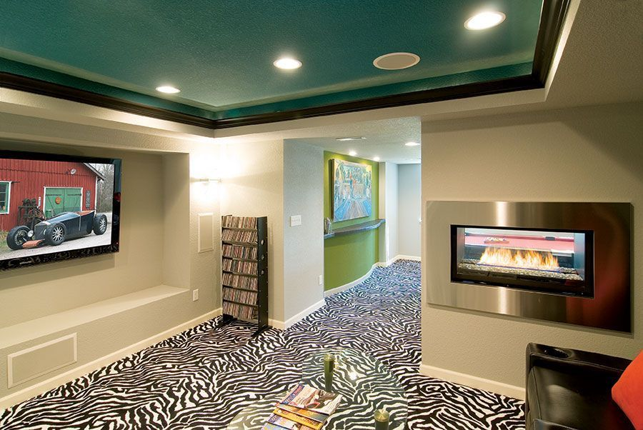 Awesome Basement Home Theater Make Room for Your Own Cinema tag