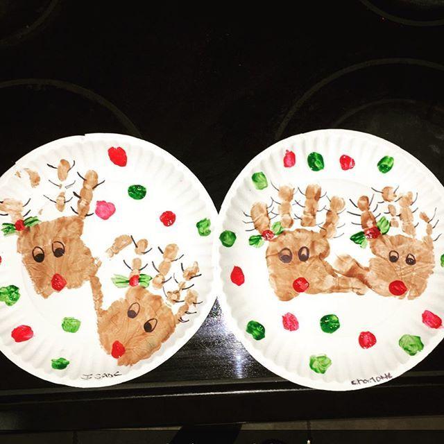 #christmascraftsforkids #nannycrafts #rudolftherednosedreindeer