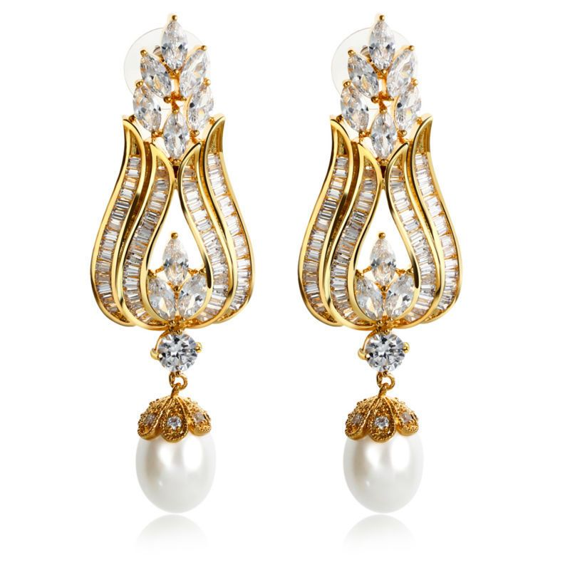 Free Shipping] Buy Best Latest Design Women Luxury Gold Color ...