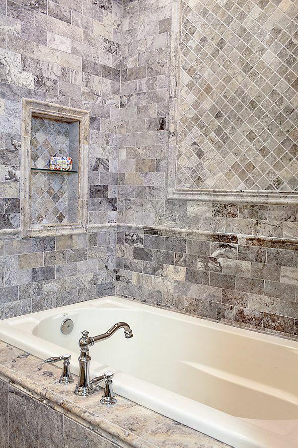 Badezimmer fliesen steinoptik  fliesenfarbe kleines bad fliesen steinoptik | bathroom | Pinterest ...