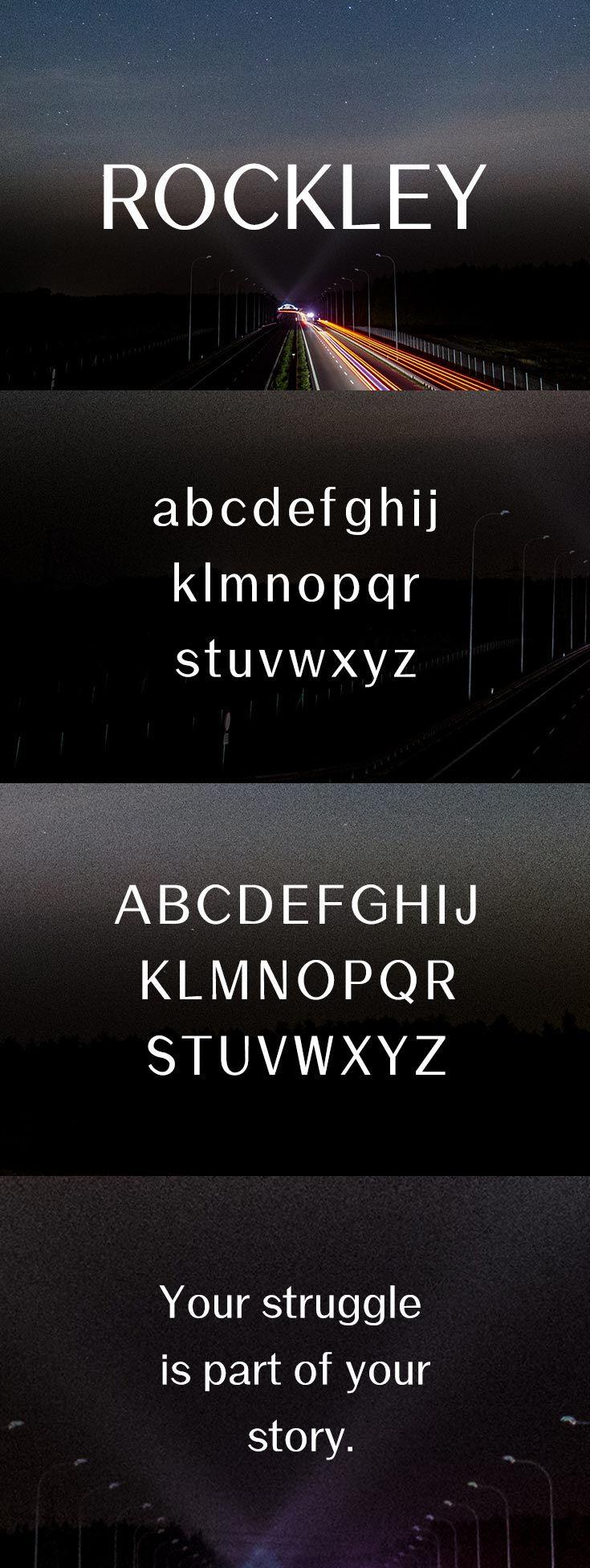 Download Free Rockley Sans Serif Font   Photoshop fonts, Sans serif ...