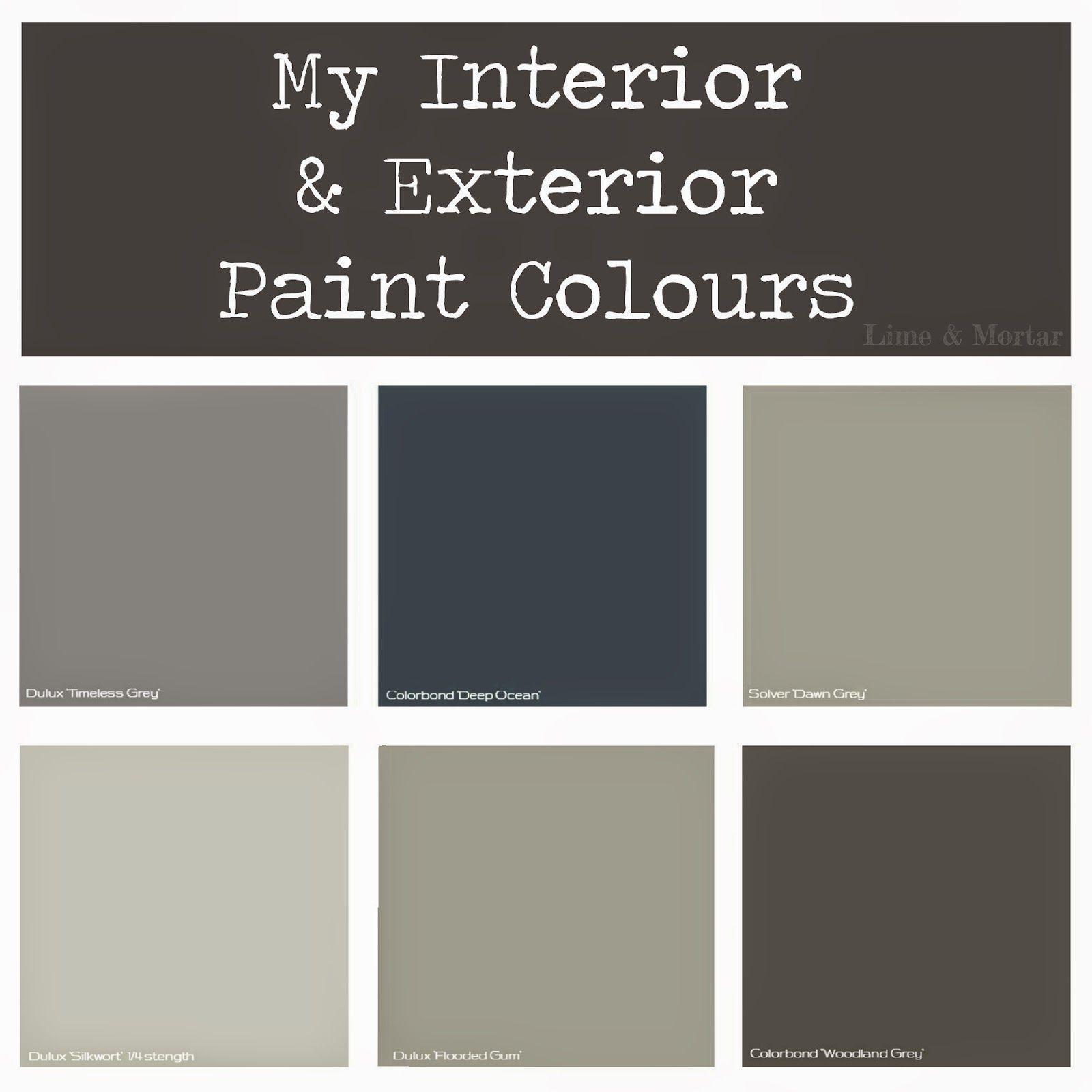 Paint Colors Adobe And Exterior Paint Colors: Lime & Mortar: My Paint Colours