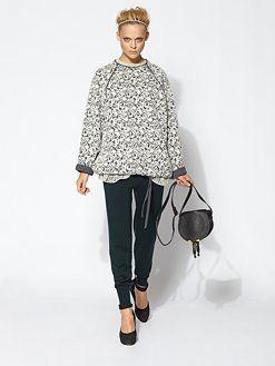 Chloe - Wool Jersey Top