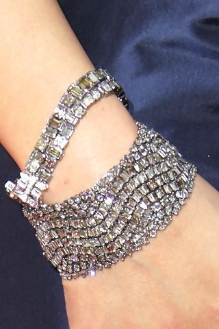 Lorraine Schwartz Platinum And Champagne Diamond Bracelets For Elle Empire U Need To Ask Her Pr