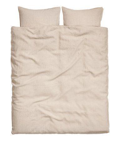 H M Linen Duvet Cover Set 129 Washed Linen Duvet Cover Duvet Cover Sets Linen Duvet