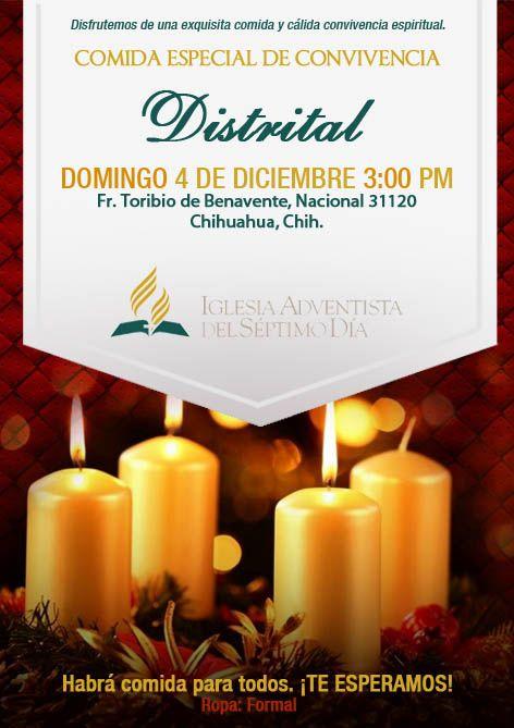 Invitacion Para Comida Y Convivio De Fin De Año By Aracely
